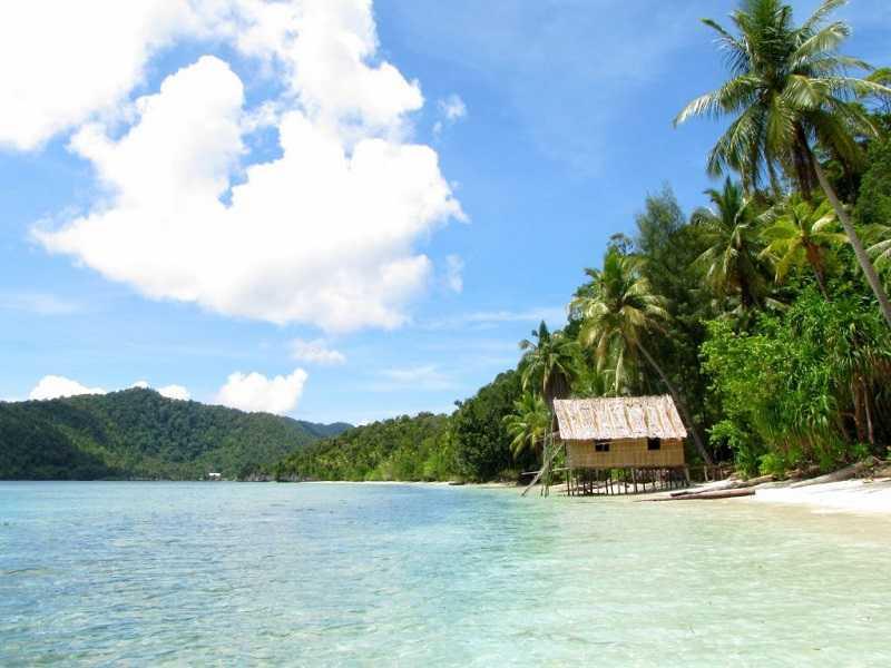 Острова Раджа Ампат бунгало