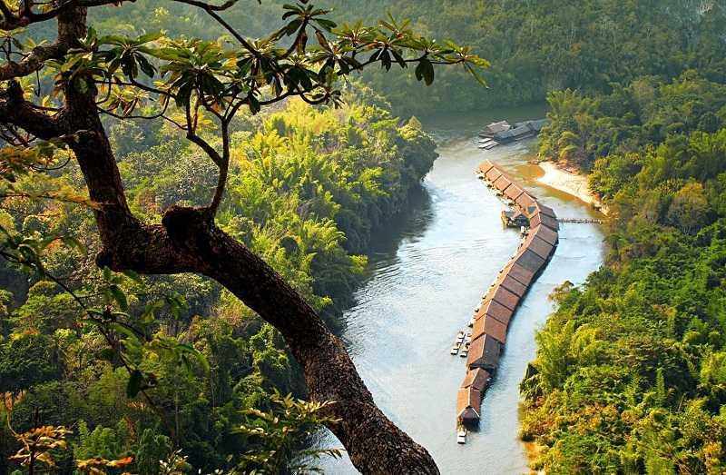 Паттайя Поездка на реку Квай