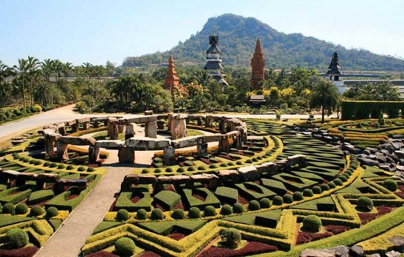 Паттайя Тропический парк Нонг Нуч