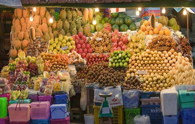 Паттайя фруктовый рынок