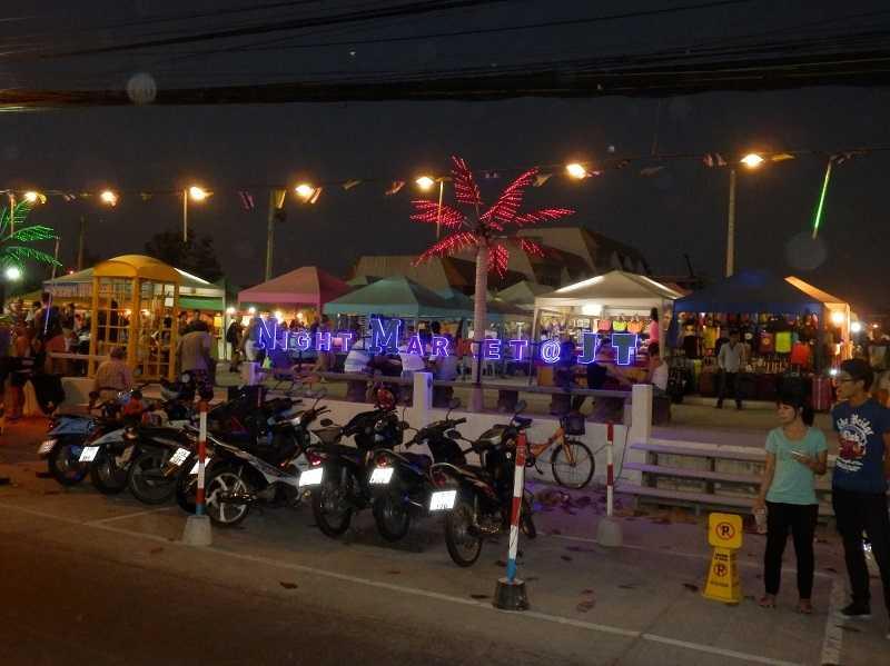 Паттайя ночной рынок на Джомтьене