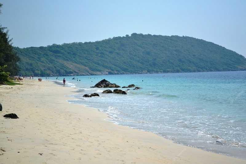 Паттайя пляж Хат Нанг Рам лес