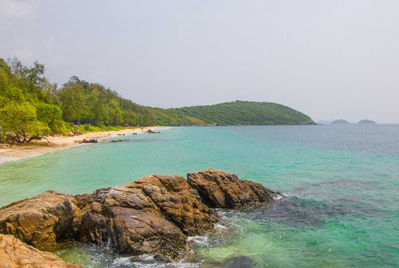 Паттайя пляж Хат Нанг Рам
