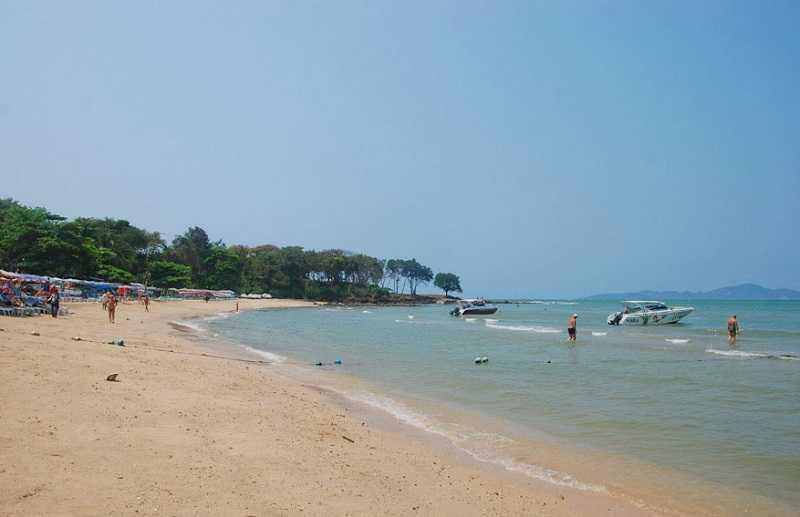 Паттайя пляж Кози Бич мыс