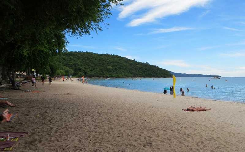 Паттайя пляж Сай Кео отдых