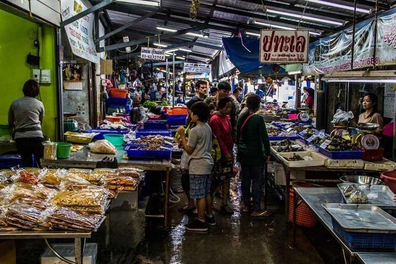 Паттайя рыбный рынок Наклуа