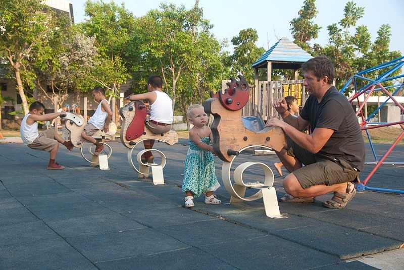 Паттайя рынок детская площадка
