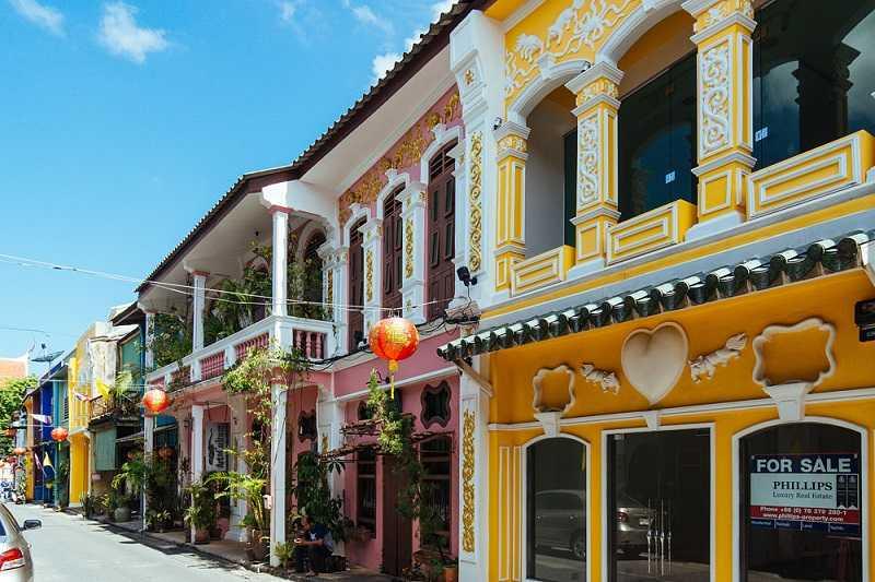 Пхукет Таун Старый город