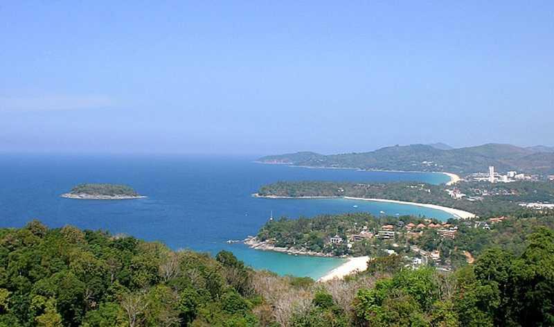 Пхукет остров Майтон смотровая площадка