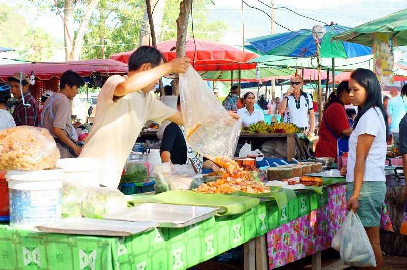 Пхукет пляж Ката рынок
