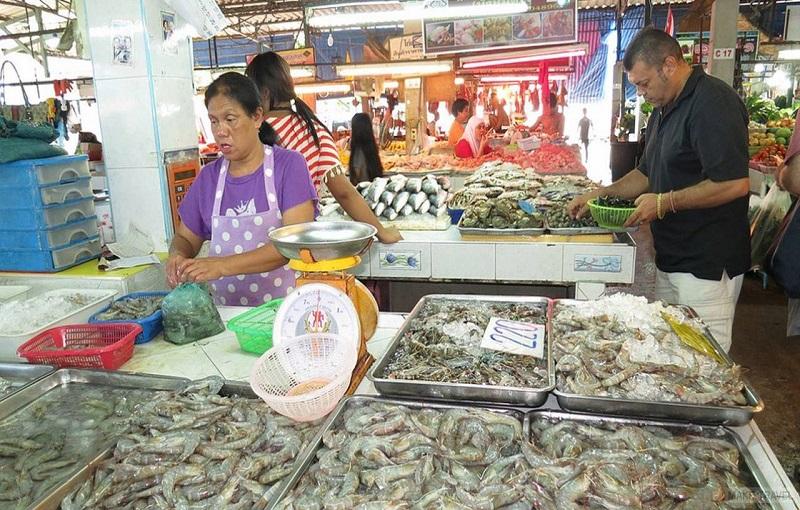 Пхукет рынок Rawai seafood market