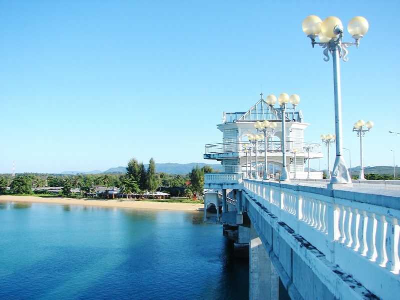 Пхукет смотровая площадка Мост Сарасин