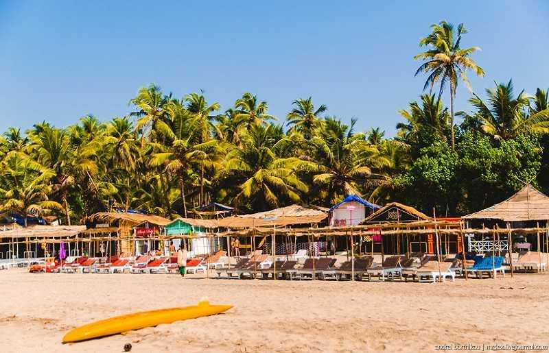 Пляж Ашвем Гоа отдых