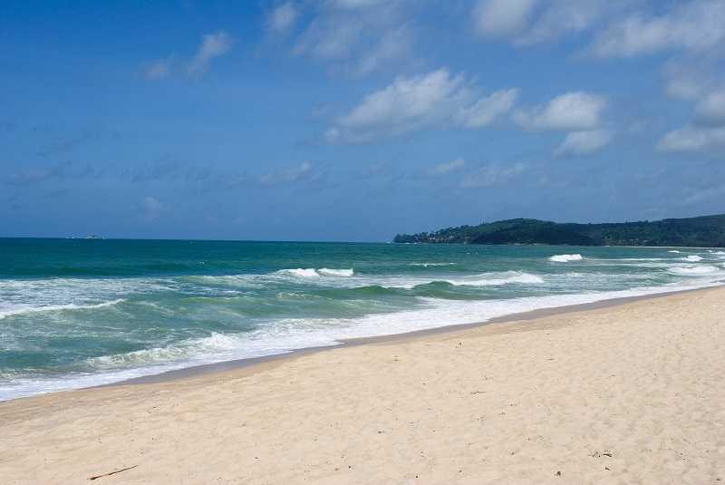 Пляж Банг Тао лагуна