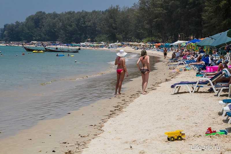 Пляж Банг Тао отдых