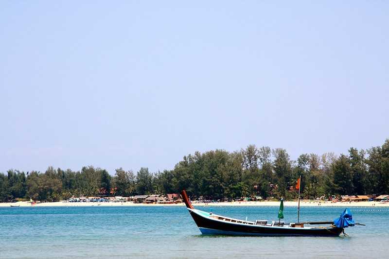 Пляж Банг Тао южная часть