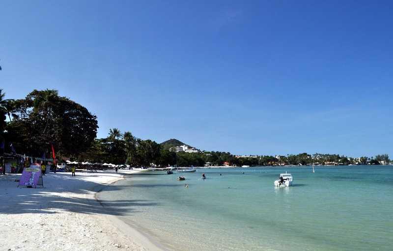 Пляж Чавенг на Самуи Северный