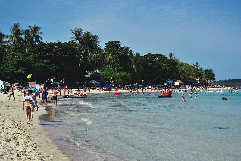 Пляж Чавенг на Самуи Центральный
