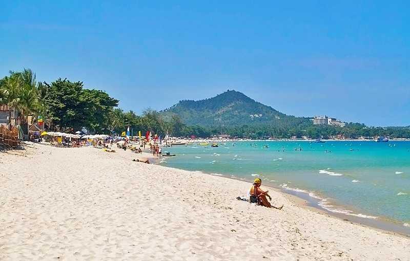 Пляж Чавенг на Самуи Южный