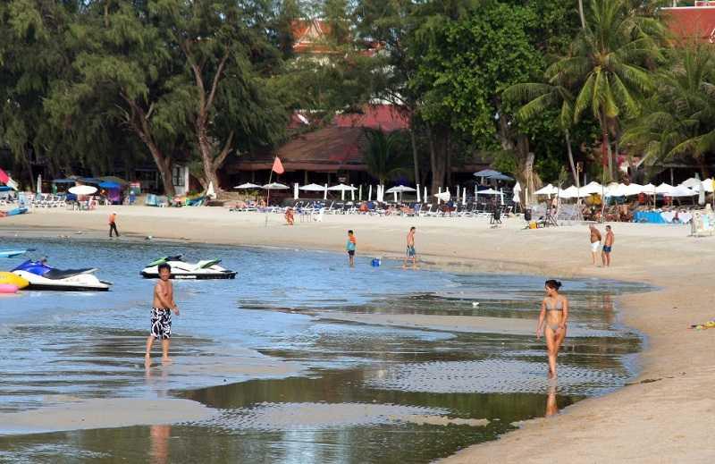 Пляж Чонг Мон Самуи бунгало