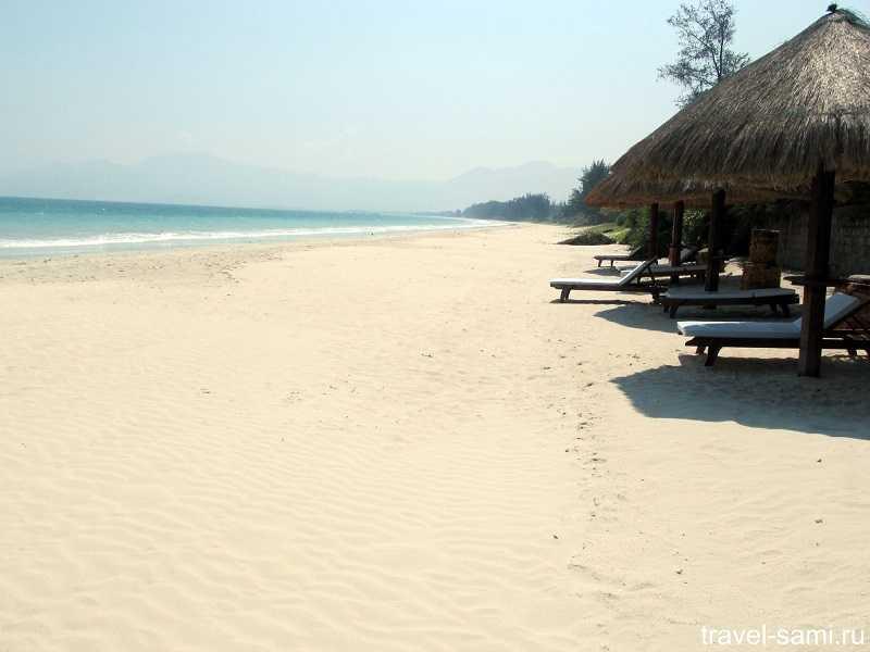 Пляж Доклет(Зоклет) Нячанг платный отдых