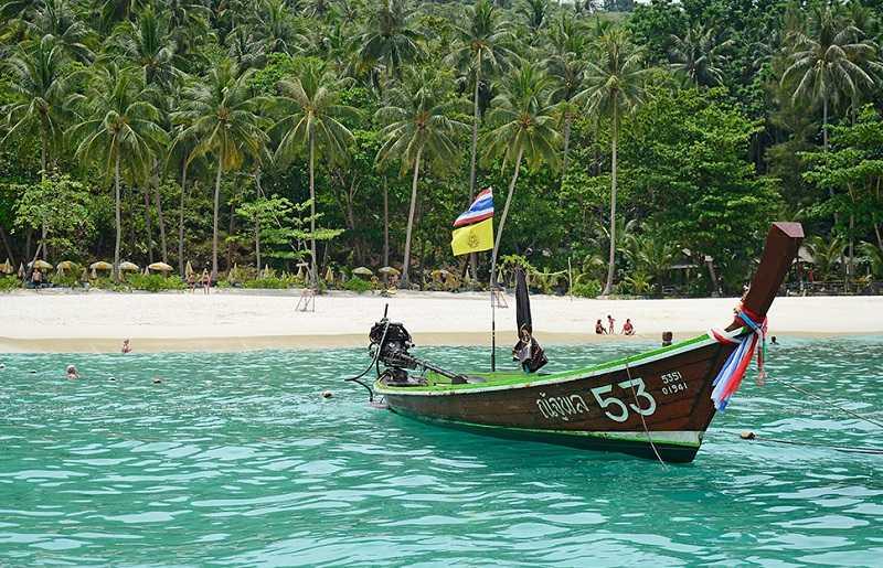 Пляж Фридом Пхукет добраться по воде