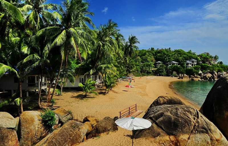 Самуи пляж Корал Ков