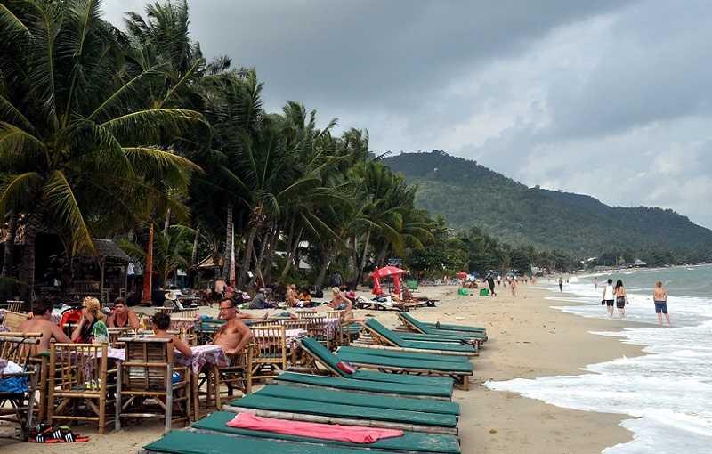 Пляж Ламай на Самуи рестораны