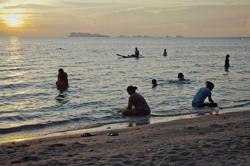 Пляж Липа Ной мелководье
