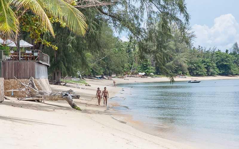 Пляж Тонг Янг центральная часть
