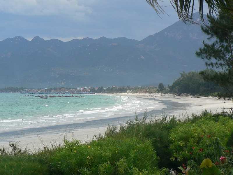Пляж Зоклет Нячанг природа