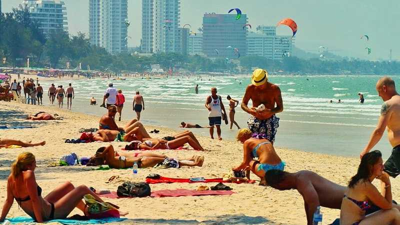 Пляжи Хуа Хина центр
