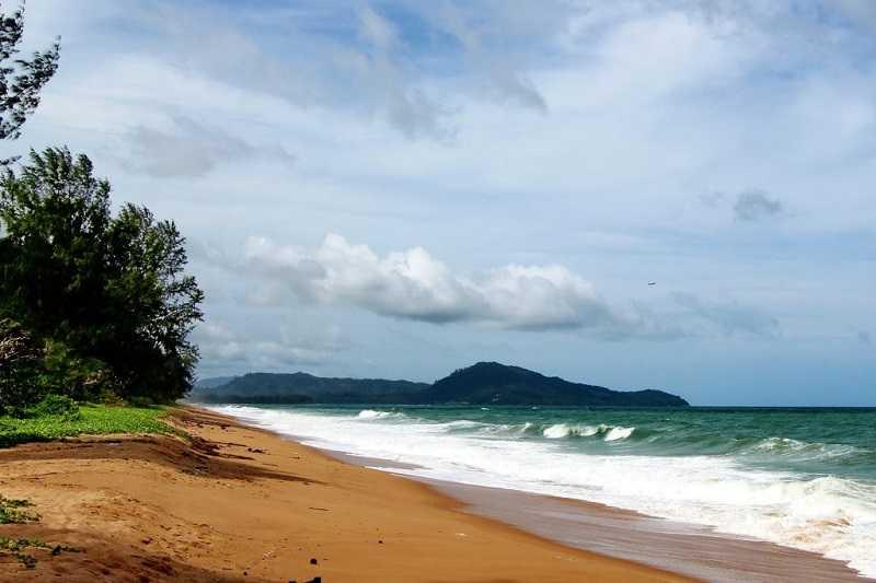 Пляжи Пхукета Mai Khao Beach
