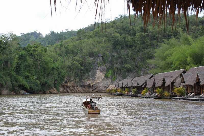 Провинция Канчанабури река Квай