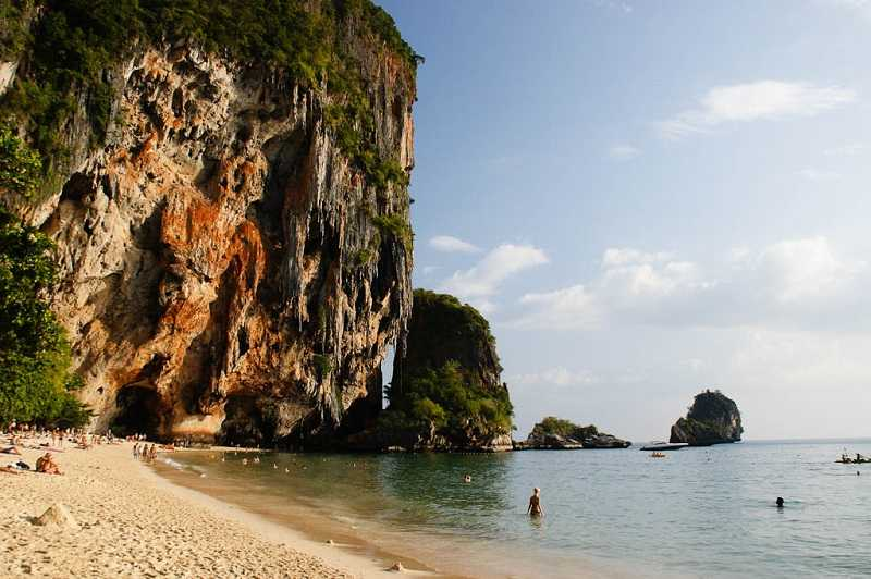 Провинция Краби пляж Прананг