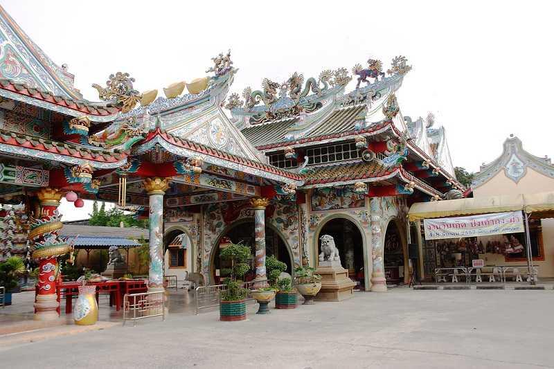 Провинция Трат храм Wat Phailom