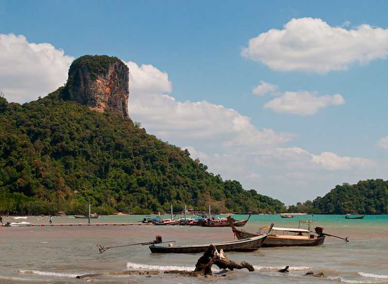 Рейли на Краби пляж Railay East