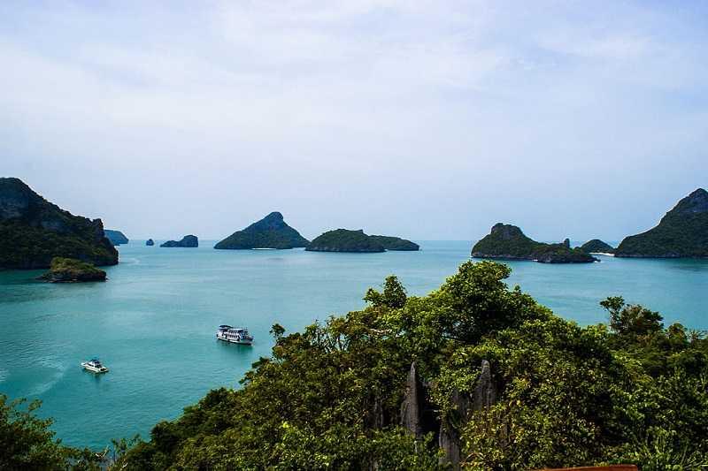 Самуи Заповедник Анг Тонг маленькие острова