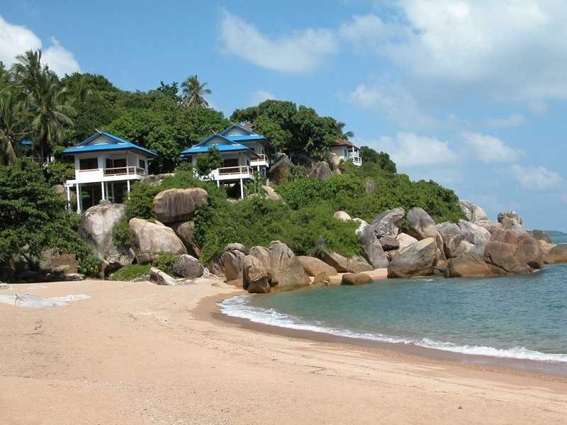 Самуи пляж Корал Ков красивое место