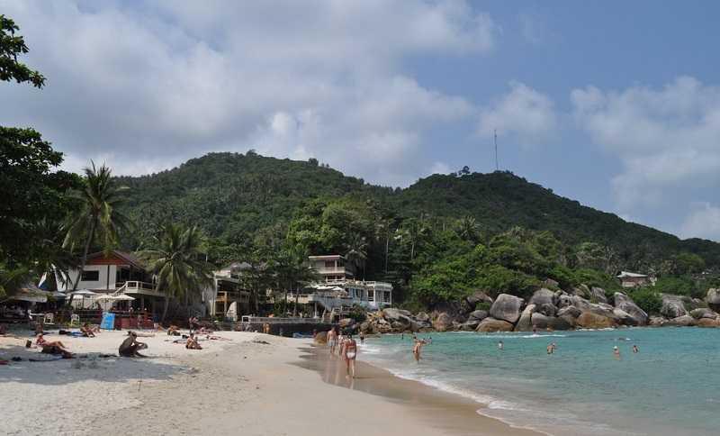 Самуи пляж Кристал Бей