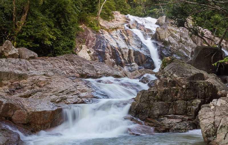 Самуи водопад Хин Лад