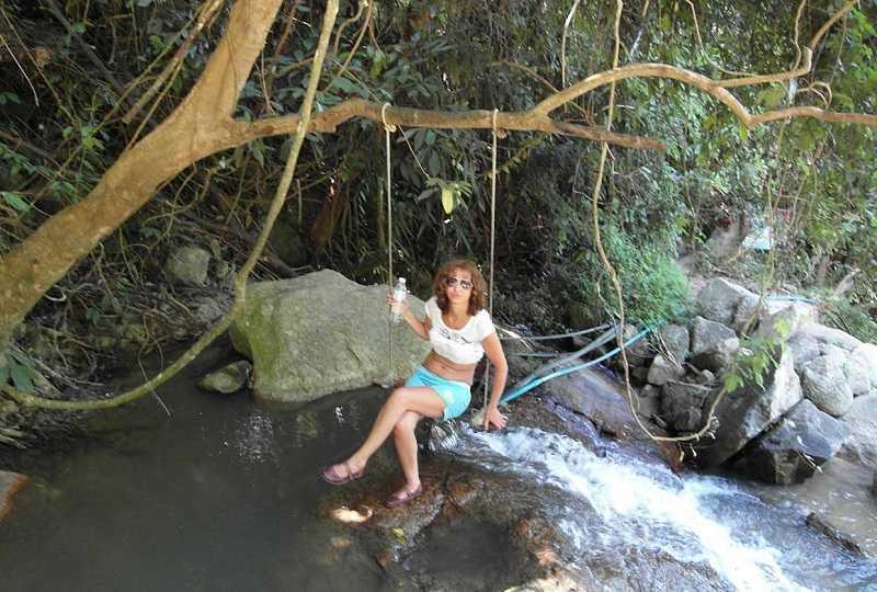 Самуи водопад Na Muang-2