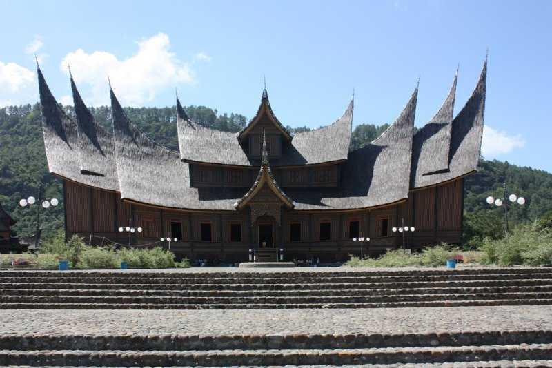 Суматра Султанский дворец
