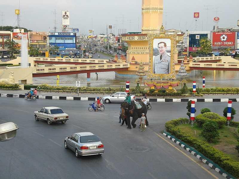 Таиланд город Лопбури