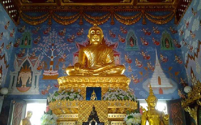 Тайланд Белый храм внутри