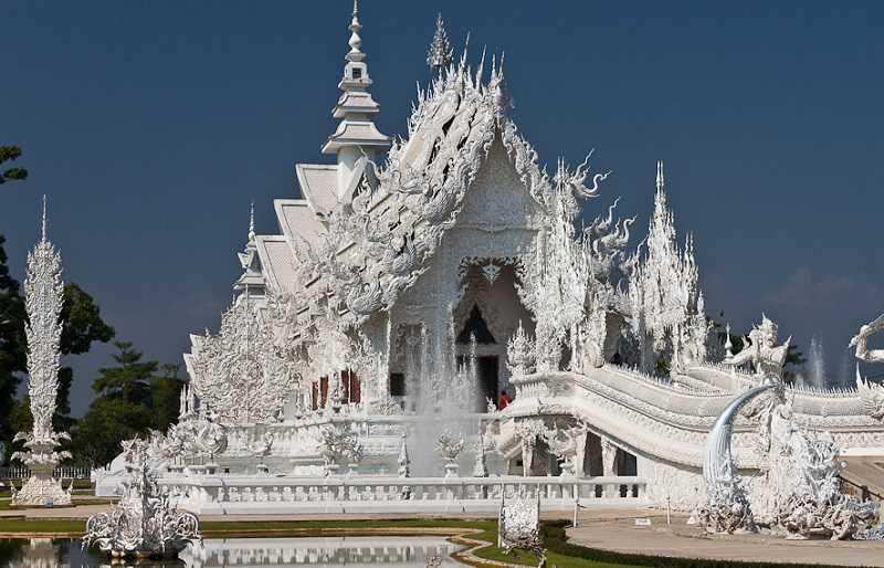 Тайланд Белый храм Ват Ронг Кхун чианграй