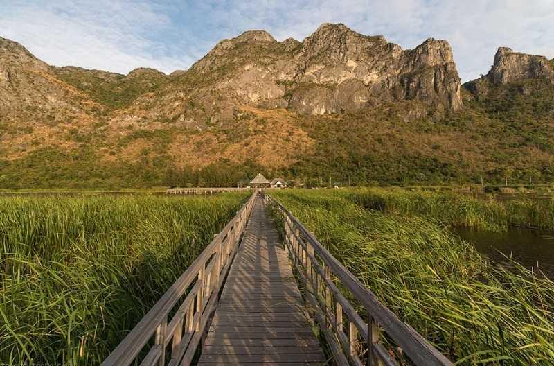 Тайланд Курорт Ча Ам парк Сам Рой Йот