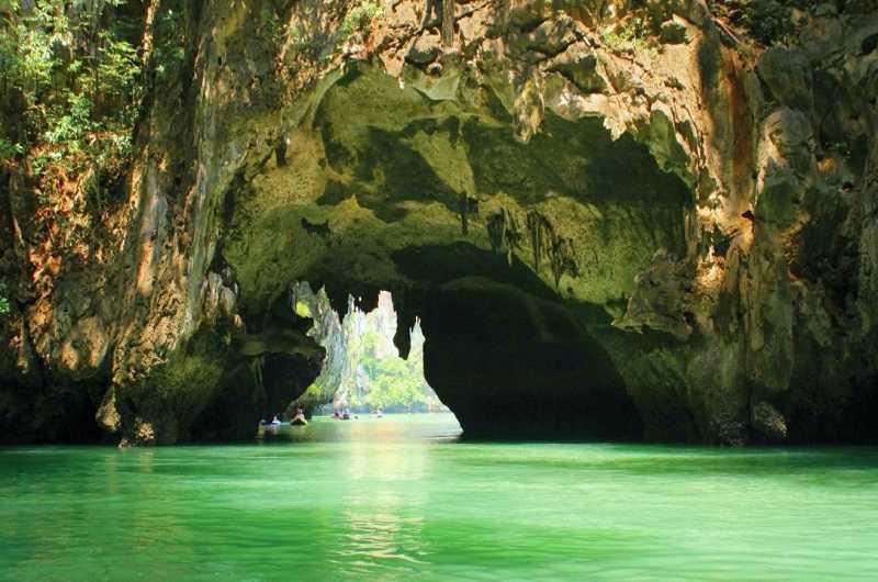 Тайланд Курорт Ча Ам пещеры