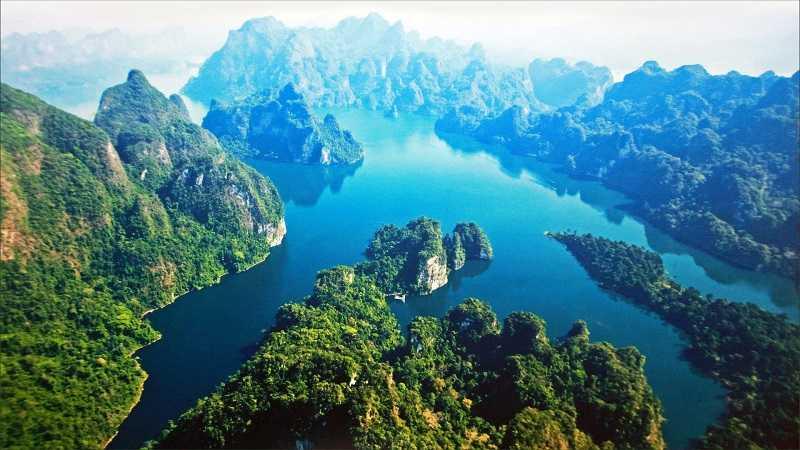 Тайланд Озеро Чео Лан