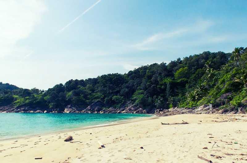 Тайланд дикий пляж Фридом
